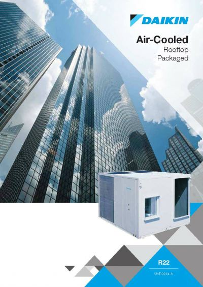 Daikin Air-Cooled Rooftop Packaged Air-Conditioner (GA Range)