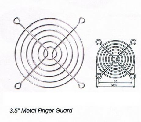3.5'' Metal Finger Guard