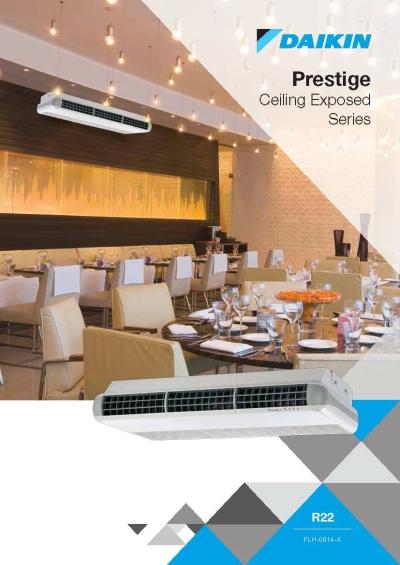 Daikin Prestige Ceiling Exposed Series Air-Conditioner (GA Range)