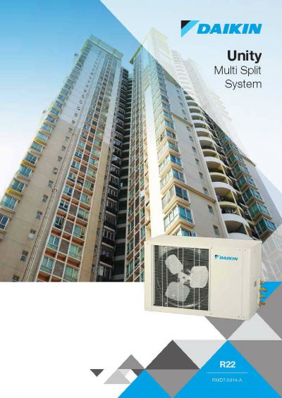 Daikin Unity Multi Split Non-Inverter Series Air-Conditioner (GA Range)