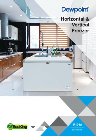 Dewpoint Horizontal Vertical Freezer (GA Range)