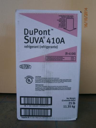 SUVA 410A (DuPont) Refrigerant Gas (11.35kg)
