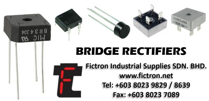 BR64 6A 400V FICTRON Bridge Rectifier Supply Malaysia Singapore Thailand Indonesia Vietnam