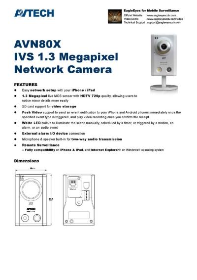 AVTECH IP Camera