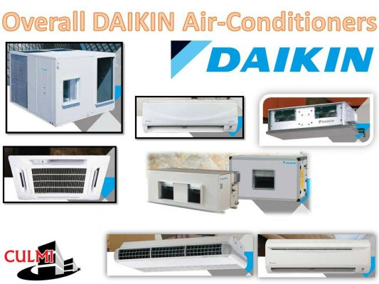 DAIKIN Overall Air-Conditioners Products