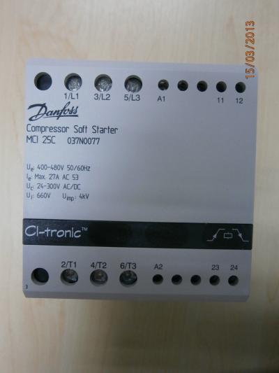 DANFOSS MC125C 037N0077 SOFT STARTER