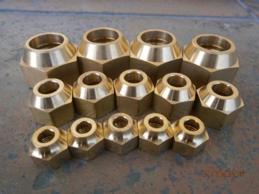 Flare Nut (Brass)
