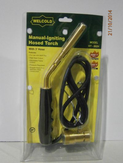 WELCOLD WT-892H HOSED TORCH