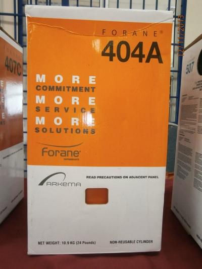 Forane 404A Refrigerant Gas (10.9kg)