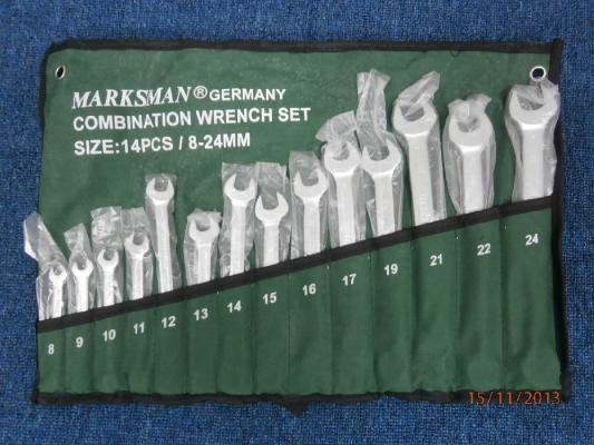 MARKSMAN 8-24MM (14PCS) COMBINATION WRENCH SET