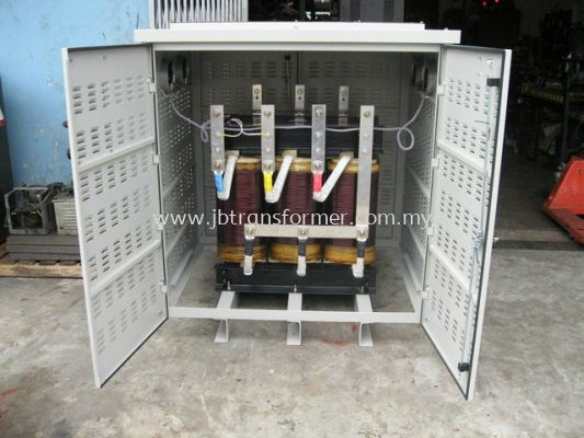 Three Phase Isolating Transformer  c/w metal casing & cooling fan