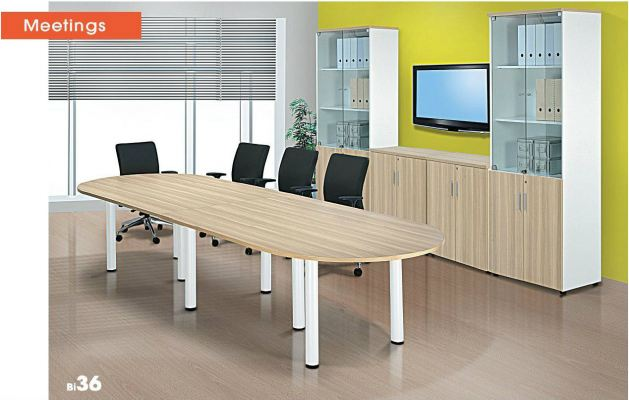 B series Oval Conference Table