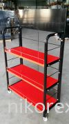 20397-LUBRICANT STAND-3LAYER(147HX90LX37D)CM Floor Stand CUSTOM MADE