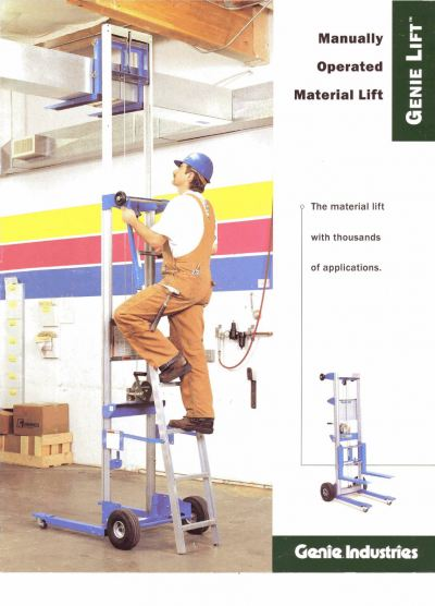 Genie Material Lifts