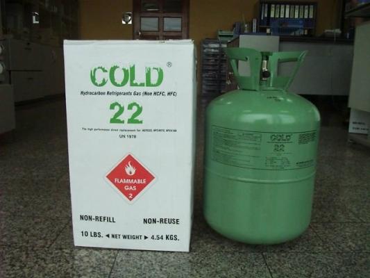 COLD 22 Hydrocarbon Refrigerant (4.54kg)