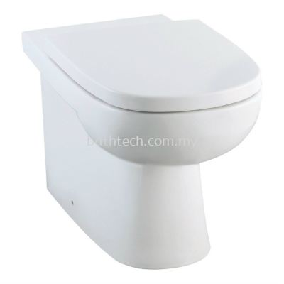 Modena Back-To-Wall Pedestal WC