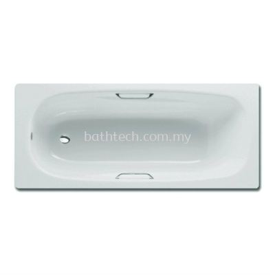 Lux Enameled Steel Bath