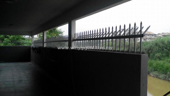 Mild Steel Fencing