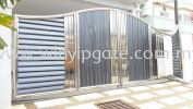 Stainless Steel Folding Gate and Fully Aluminum Plate Stainless Steel Folding Gate and Fully Aluminum Plate