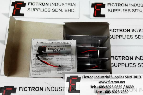 ER6VC119B TOSHIBA Battery Supply Malaysia Singapore Thailand Indonesia Vietnam
