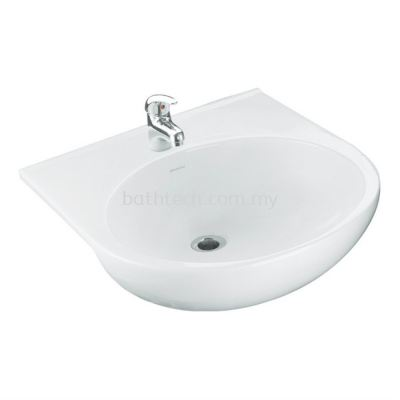 Arosa Semi-Recessed Basin