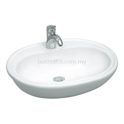 Windsor Semi-Recessed Basin