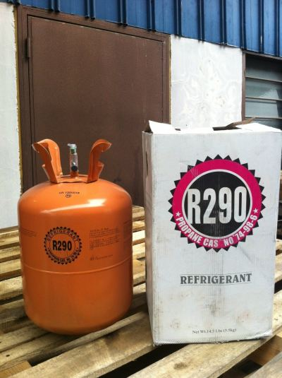 R290 Refrigerant Gas (5.5kg) Disposable Cyld