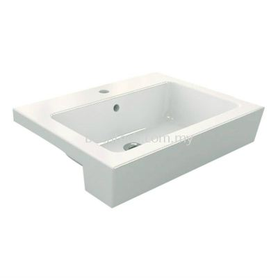 Trezzo 620 Semi-Recessed Basin