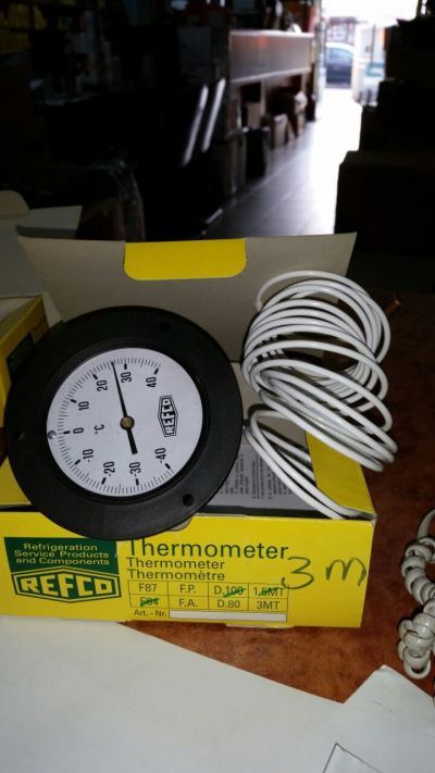 REFCO F-87 Series Thermometer With Capillary Tube (Range: -40 up to +40C)