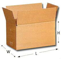 Brown Regular Slotted Carton Box