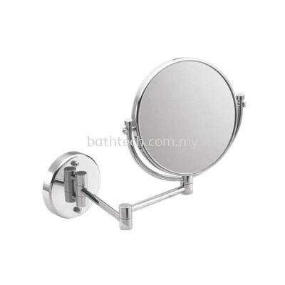 "Commercial Wall Mounted Cosmetic Mirror 8"" (100126)"