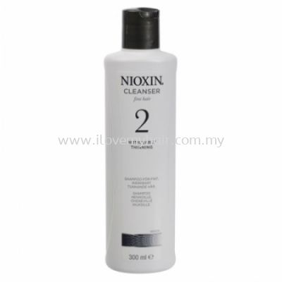 Nioxin System 2 Cleanser (300ml)
