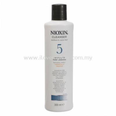 Nioxin System 5 Cleanser (300ml) New
