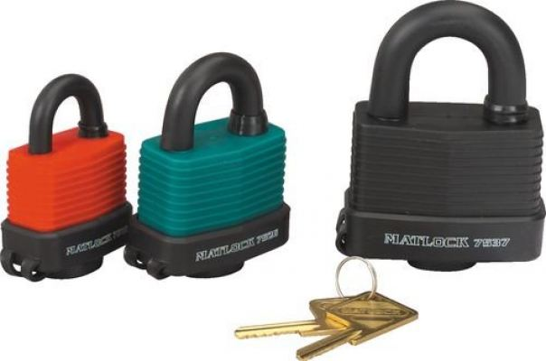 Padlocks,Weather-Resistant 54mm MTL9507526K
