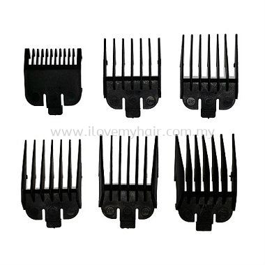 Wahl 6-Pieces Attachment Combs