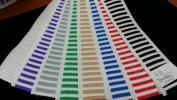 Mattress Tape-3D Double Color 3D Double Color Mattress Edging