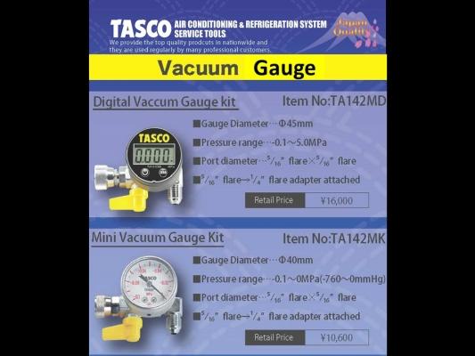 TASCO Vacuum Gauge
