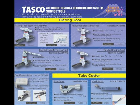 TASCO Flaring Tool and Tube Cutter