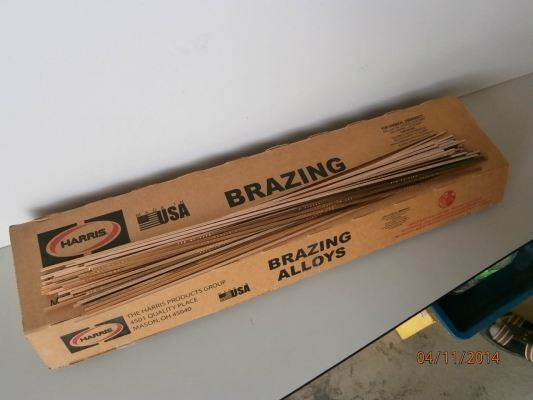 Harris Brazing Alloys (Brazing Rods)