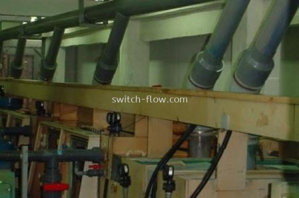 Industrial Air and Chemicals Process Piping