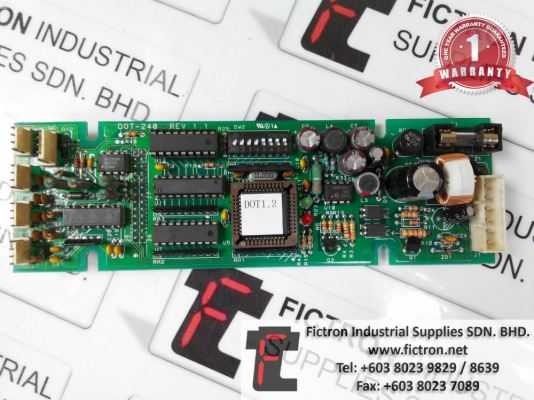Repair Service in Malaysia - DOT-240 REV 1.1 Control PC Board Singapore Indonesia Thailand