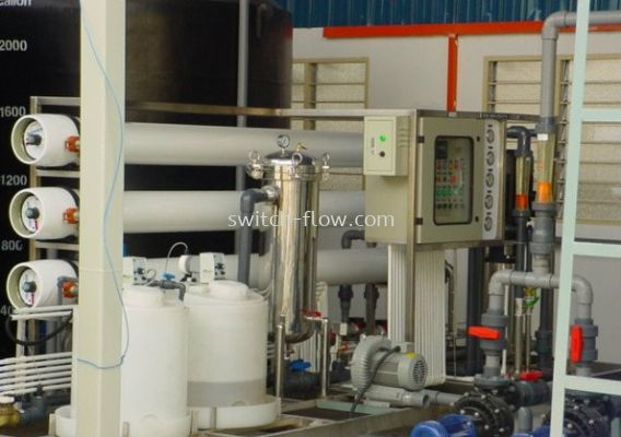Reverse Osmosis Single Pass 2 Array Systems