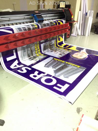 Zig Zag Billboard Printing at The Atmosphere (Seri Kembangan)