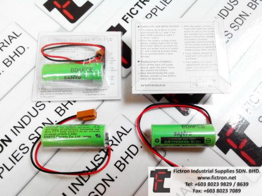 CR17450SE-R 3v SANYO Lithium Battery Supply Malaysia Singapore Thailand Indonesia Vietnam