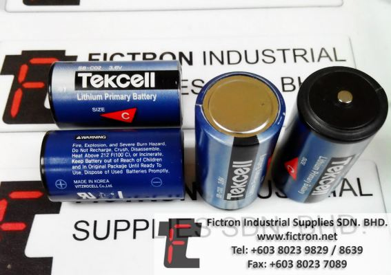 SB-C02 SB C02 3.6v TEKCELL Lithium Battery Supply Malaysia Singapore Thailand Indonesia Vietnam