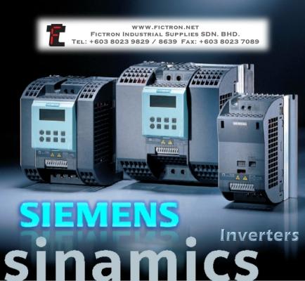 6SL3211-0KB11-2BA1 SIEMENS SINAMICS G110 Series Inverter Malaysia Singapore Thailand Indonesia Vietnam