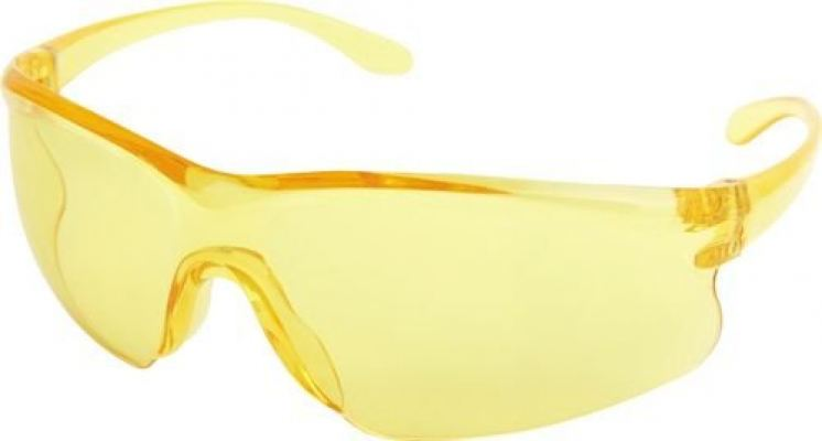 Scratch Resistant Safety Spectacles Lens Yellow TFF9608420K