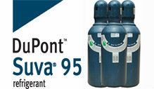 SUVA 95 (DuPont) Refrigerant Gas (9.08kg/cyld)