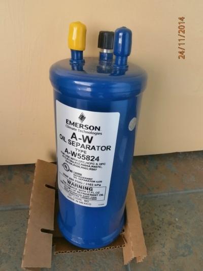 EMERSON FLOW CONTROLS OIL SEPARATOR