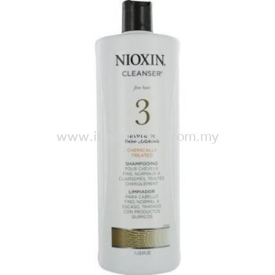 Nioxin System 3 Cleaser (new) 1000ml
